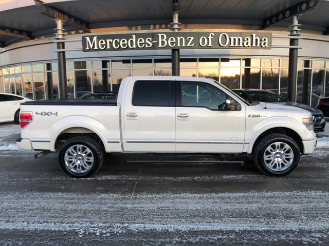Pre-Owned 2013 Ford F-150 4WD SuperCrew 145 Platinum