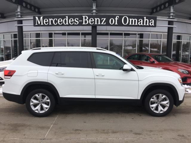Pre-Owned 2018 Volkswagen Atlas 3.6L V6 SE 4MOTION