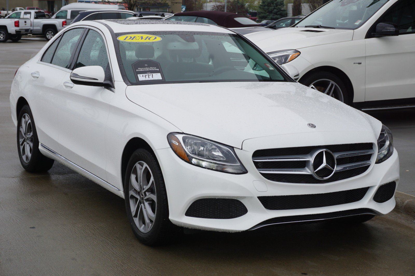 New 2018 Mercedes-Benz C 300 AWD 4MATIC®