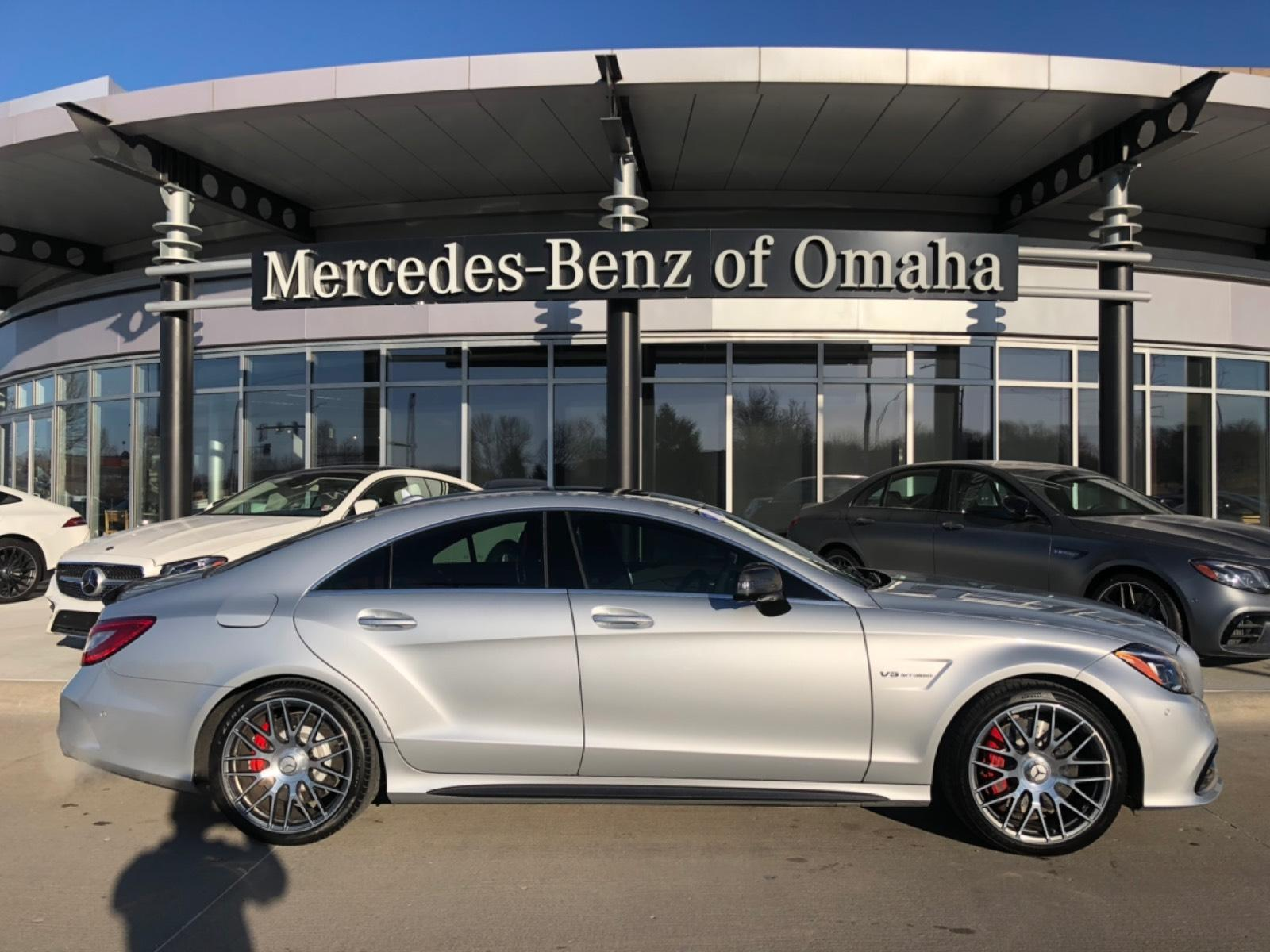 Certified Pre-Owned 2018 Mercedes-Benz CLS AMG® CLS 63S Coupe