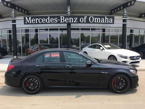 Certified Pre-Owned 2018 Mercedes-Benz C-Class AMG® C 63 S Sedan